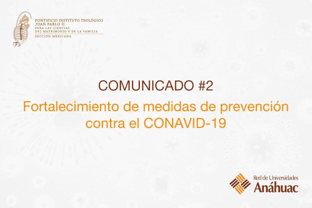 Fortalecimiento de medidas de prevención contra el CONAVID-19