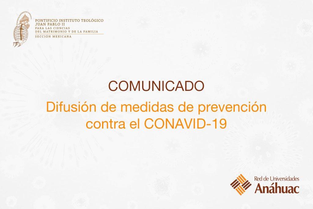 Difusión de medidas de prevención contra el CONAVID-19