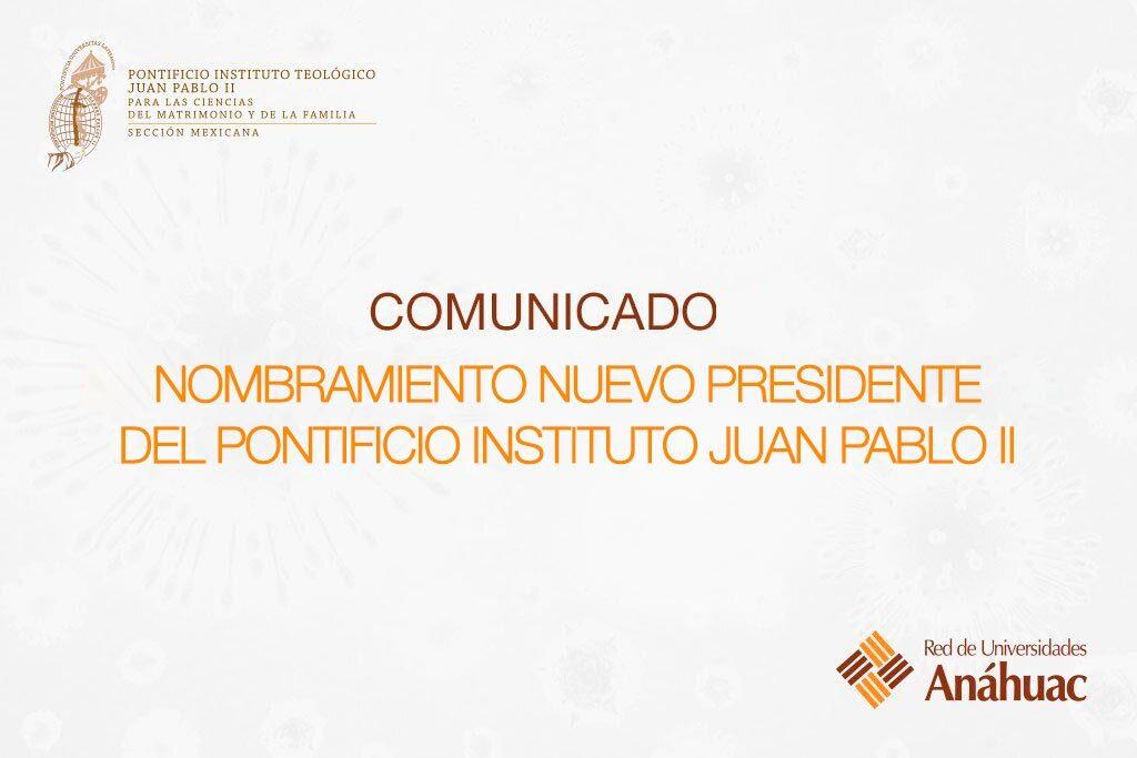 comunicado nombramiento nuevo presidente