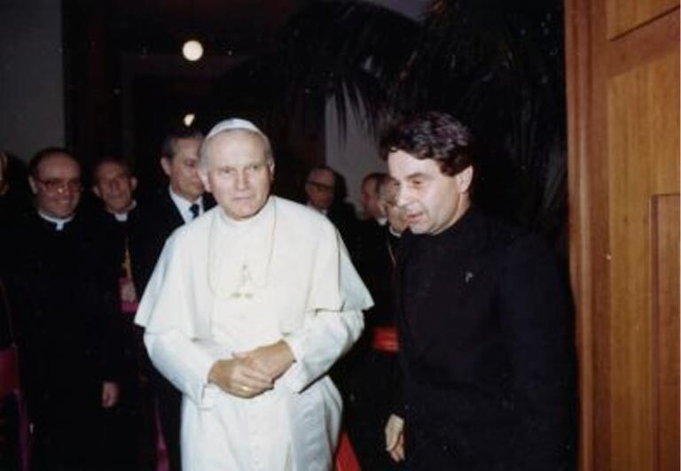 los inicios del Instituto Juan Pablo II